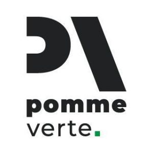 logo pomme verte vidéo